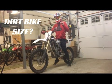 How to Choose the Right Size Dirt Bike: NEW RIDER SERIES EP: 4
