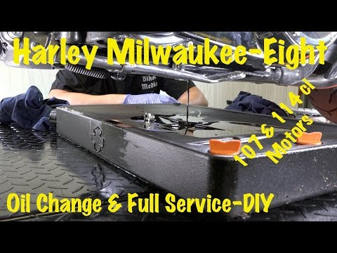 Harley Milwaukee-Eight Routine Oil Change, Service, & Safety Inspection-DIY | Complete Guide