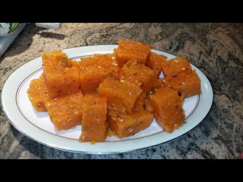 How to make Bombay Karachi Halwa | Sweet Halva Recipe