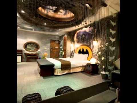 Batman bedroom design decorating ideas