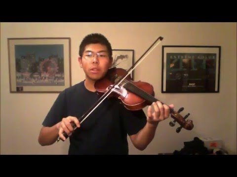 Mirror Haus - Lindsey Stirling - Violin Tutorial - 16th Note Run - STRING BROKE AT THE END