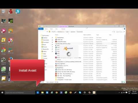 How to Install Avast Free Antivirus 2015