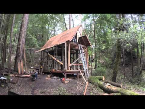 Building a Cabin in Time Lapse