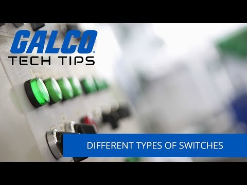 Different Types of Switches used in Industrial Applications - A Galco TV Tech Tip