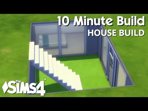 The Sims 4 House Build - 10 Minute Build Challenge