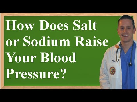 How Does Salt (Sodium) Raise Your Blood Pressure?