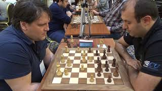 GM Valery Popov - GM Rauf Mamedov, English opening, Blitz chess