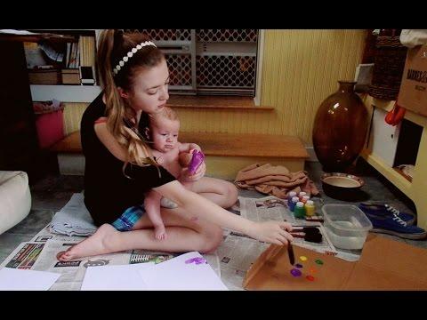 07.12.16. BABY FOOTPRINT ART