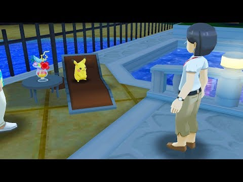 Mr. Chuuster: Pikachu Celebrity Event - Pokémon Ultra Sun/Moon