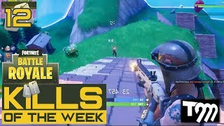 Fortnite: Battle Royale - TOP 10 KILLS OF THE WEEK #12