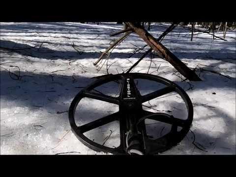 Metal Detecting Maine In January