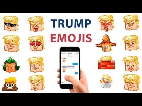 Donald Trump Emoji Keyboard for iOS & Android   Download Emoji