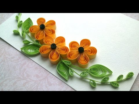 Quilling Ideas: Quilling designs flowers and quilling designs for cards