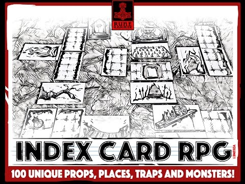 Download Index Card RPG is HERE!