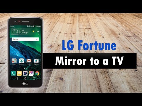 LG Fortune How to Mirror Your Screen to a TV
