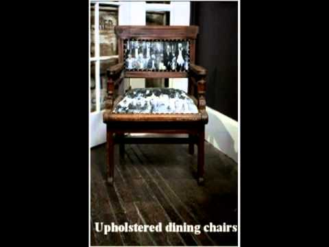 Buy New York's Antique Furniture! Upholstered Chairs & Wall hangings - TheOldVillageHall.com