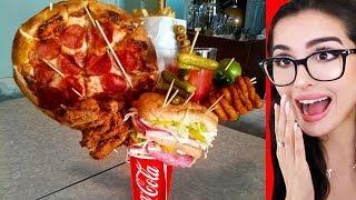 Restaurants With CRAZY FOOD SERVINGS