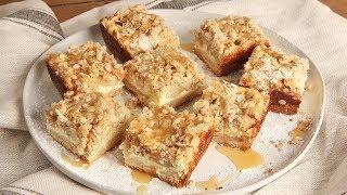 Caramel Apple Cheesecake Bars   Ep. 1292