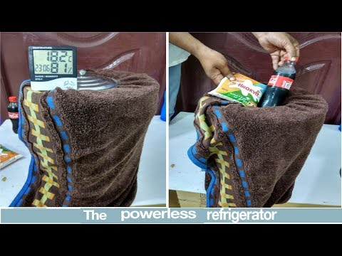 Without Electricity and Without Machine How to make Refrigerator in 5-Minutes-( Low cost DIY)