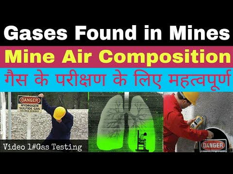 Gases found in Mines |Mine Air Composition| Important for Gas Testing