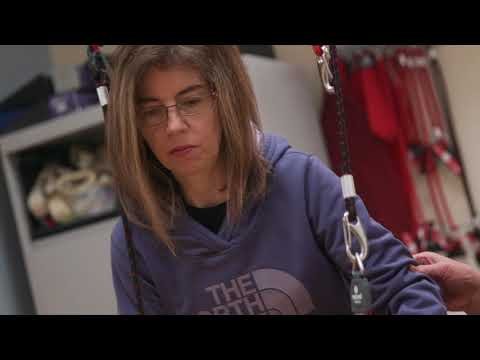 Young Stroke Patient Learns to Live Again