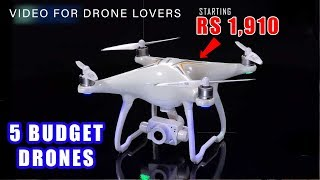 Best Budget DRONE with Camera in India▶4K RECORDING, 3 BATTERY, WIFI, 6 axis G-yro, 3000mAh, 30M rec