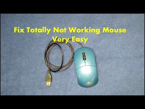 How to Fix Totally Not Working Mouse or sometimes Get Connected/Disconnected Mouse
