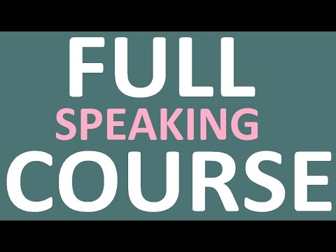 HOW TO LEARN ENGLISH SPEAKING EASILY. English Speaking practice. English speaking course full video