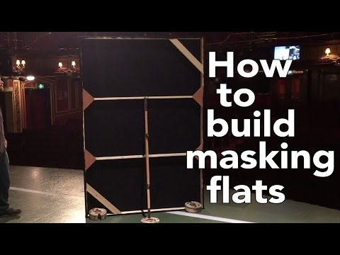 How to build Theatre Masking Flats