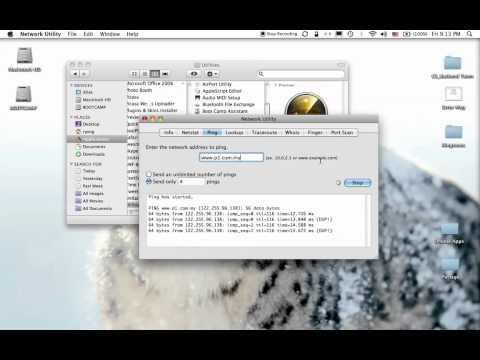 Ping and IP Config in Mac