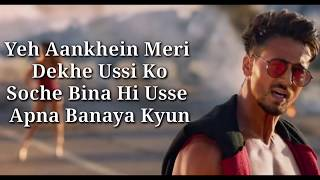 Dus Bahane 2.0 Lyrics | Baaghi 3 | KK , Shaan , Tulsi Kumar | Tiger Shroff , Shraddha Kapoor |