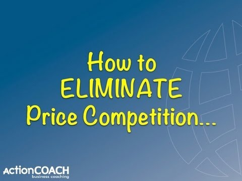 How to eliminate price competition - David Guest