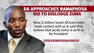 DA to present Ramaphosa with a petition to remove Zuma
