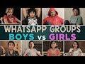 WhatsApp Groups Boys Vs Girls MostlySane
