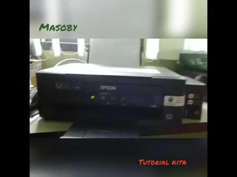 Tutorial pengisian tinta epson l210, l220, l360 ( Tutorial refill ink epson L 210, 220, 360 )