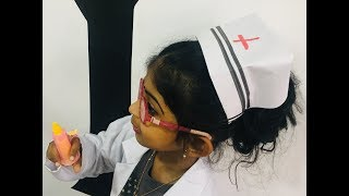 f3ad6286debc7 How to make a Nurse cap/ easy Nurse cap /origami Nurses cap/DIY