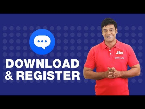 Jio Chat - How to Download and Install Jio Chat App (Hindi) | Reliance Jio