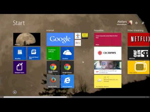 Windows 8.1 How to change modern start screen background picture