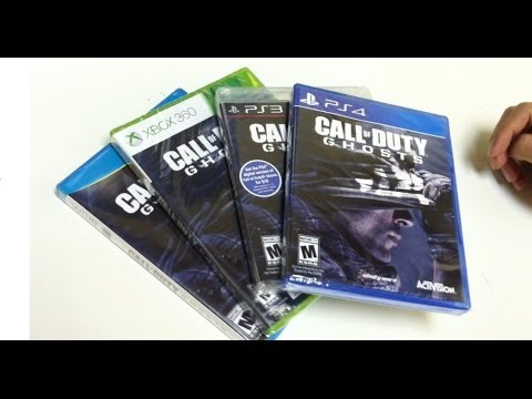 Unboxing Call of Duty Ghosts PlayStation 4 PS4