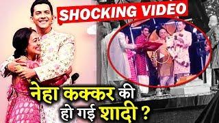 VIRAL VIDEO : Neha Kakkar And Aditya Narayan Got Married On Indian Idol Sets !
