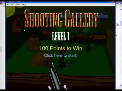 Flash Shooter Game 17 - Actionscript 2.0