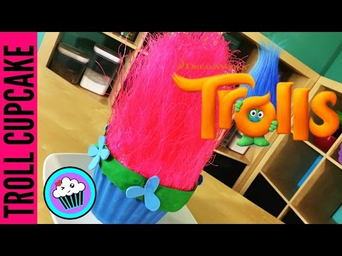 How to make a Giant Troll Cupcake | Pinch of Luck