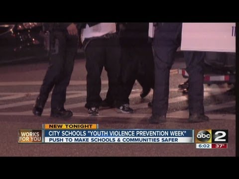 Baltimore city schools hold youth violence prevention week