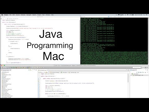How to Program with Java on Mac - Tutorial