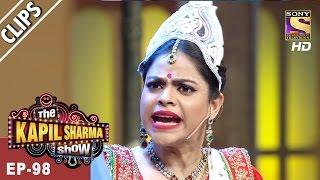 Sarla Meets Popular Bollywood Singer Shaan - The Kapil Sharma Show - 16th Apr, 2017