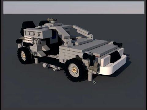 Brograph Tutorial 026 - Lego Designer to Cinema 4D