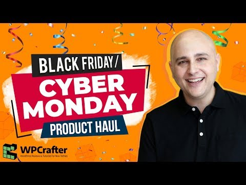Here Is What I Bought - Product Haul For Black Friday / Cyber Monday