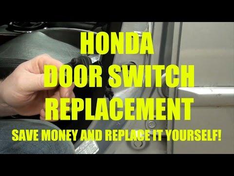 HONDA DOOR SWITCH REPLACEMENT