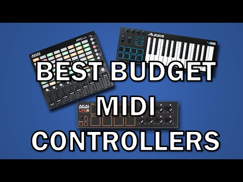 best budget MIDI controllers - Creating Tracks