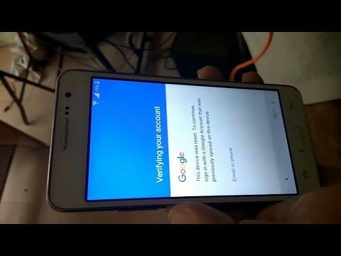 SAMSUNG G531F GALAXY Grand prime 4G Remove BYPASS Google Account FRP Lock HD